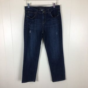 Jennifer Lopez Distressed Boyfriend Jeans Size 8S
